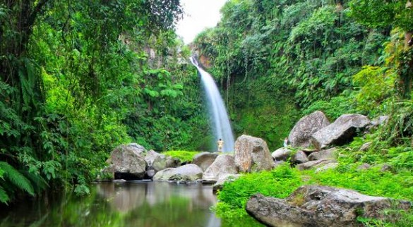 Air Terjun Segenter Lombok Barat