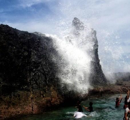 Air Terjun Asin Tanjung Jagog Lombok