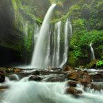Pesona Air Terjun Tiu Kelep Senaru Lombok Utara