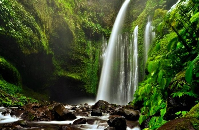 Wisata Alam Sejarah Air Terjun Tiu Kelep Lombok